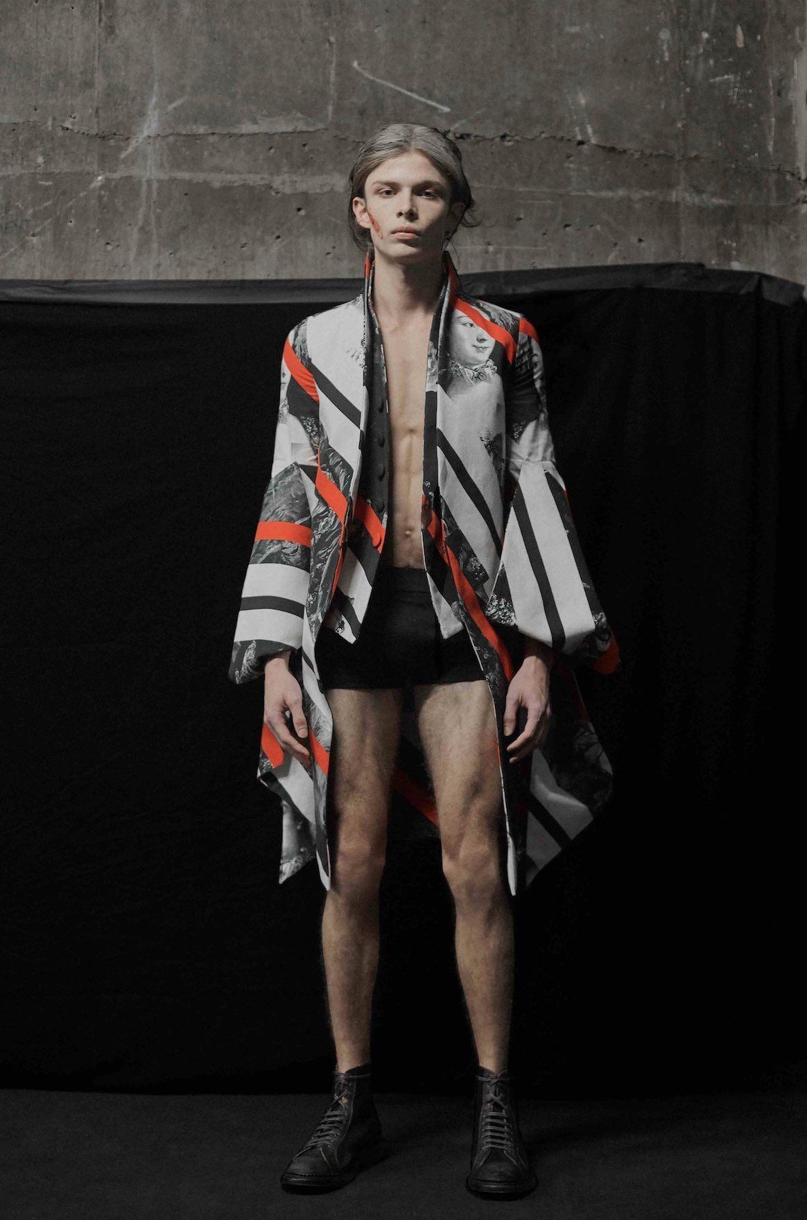 London Fashion Week Nabil Nayal