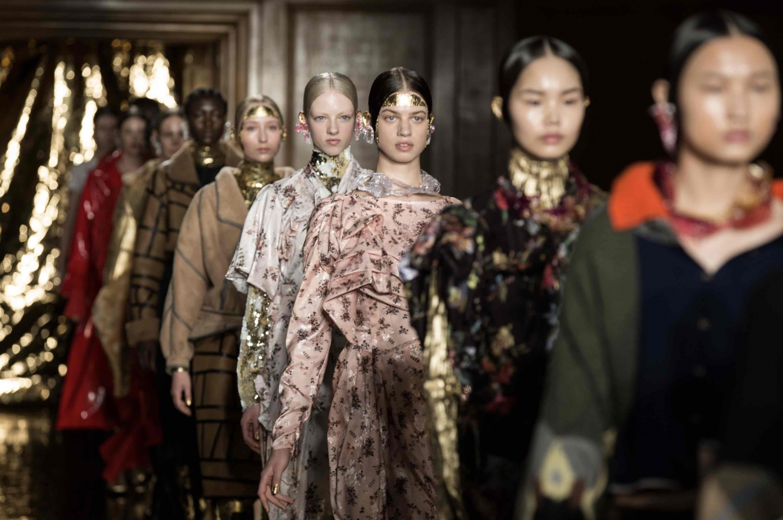 London Fashion Week show 2020